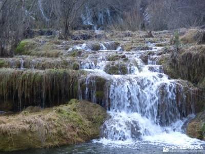 Nacimiento Río Cuervo;Las Majadas;Cuenca;caras de buendia ciudad encantada de tamajon embalse de bu